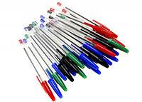Ручки шариковые разноцветные 25 шт. UNITED OFFICE