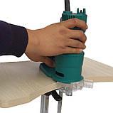 Ручной фрезер AH703-1 для обработки кромки (с пяткой и фрезой R2), фото 5