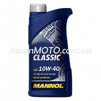 Масло 4T, 1л (синтетика, 10W-40, Classic) MANNOL