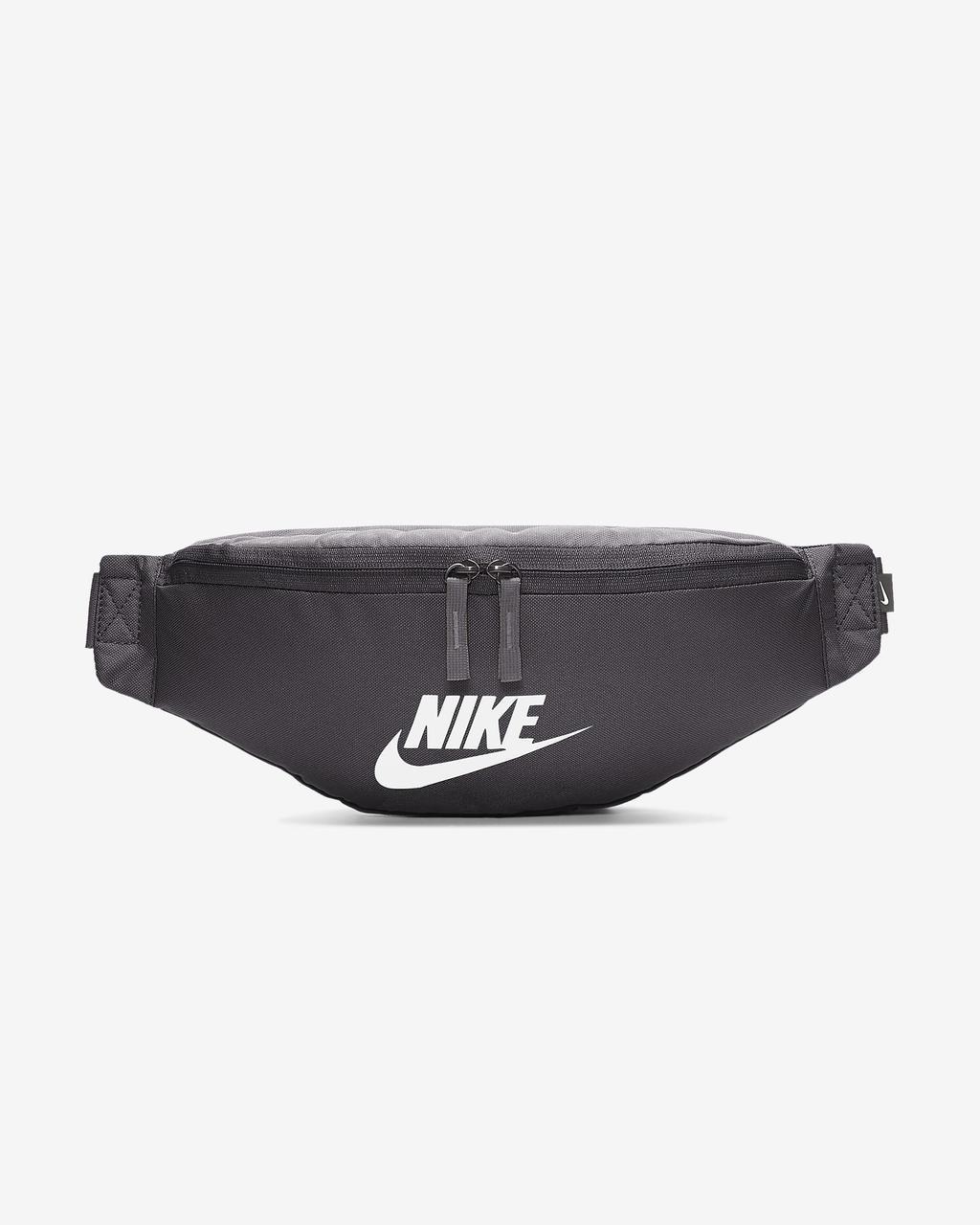 Сумка на пояс Nike Sportswear Heritage BA5750-082 Сірий