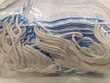 Упаковка 100 штук Маска медична тришарова на гумках блакитна Україна Якість, фото 5