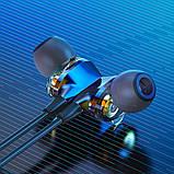 Беспроводные Bluetooth наушники BlitzWolf BW-BTS4 с шейным креплением Черный, фото 3