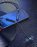 Беспроводные Bluetooth наушники BlitzWolf BW-BTS4 с шейным креплением Черный, фото 5