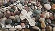 Срібний православний хрестик з розп'яттям. Вага 7,75 гр. 925 проба, фото 3