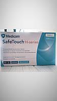 Нитриловые перчатки Medicom SafeTouch Advanced H-series синие нестерильные (100шт./Размер M) 3,6г