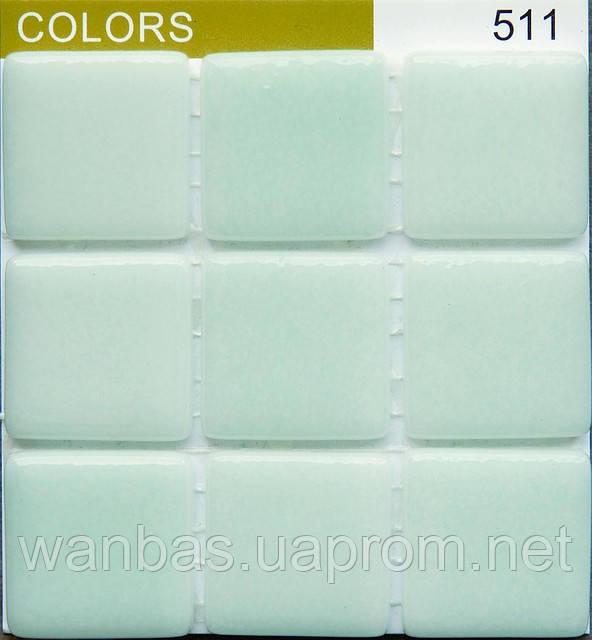 """Мозаика  Испанская """"Colors""""FOG GREEN CANNES 511"""