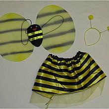 Детский карнавальный набор пчелки (крылья, обруч, юбка) 24958