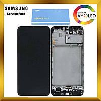 Дисплей Samsung M215 Galaxy M21 с сенсором Черный, Зеленый, Синий оригинал , GH82-22509A