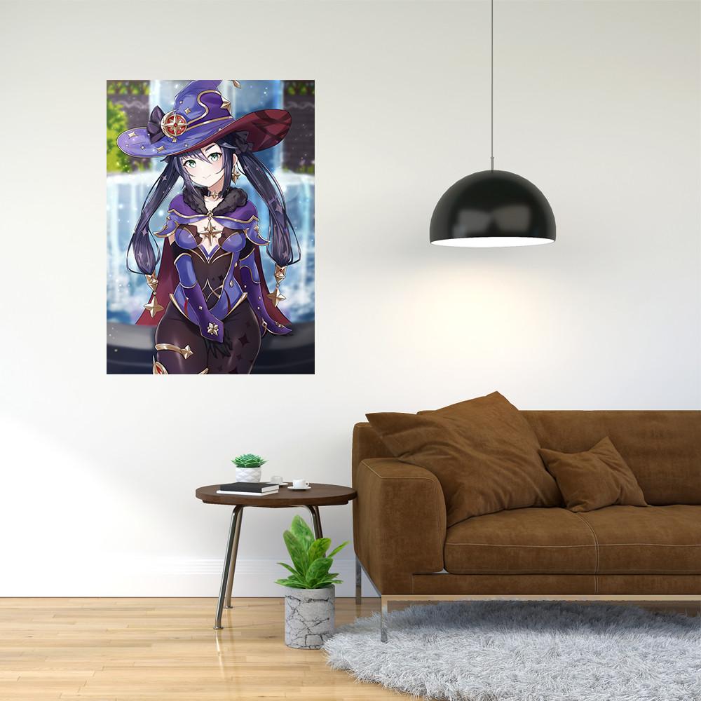 """Плакат-постер с принтом """"Геншин Удар - Genshin Impact (компьютерная игра) 5"""""""