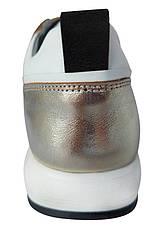 Кроссовки Perlina 105zoloto21 золото, фото 3