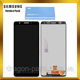 Дисплей Samsung A013 Galaxy A01 Core 2020 с сенсором Без рамки Черный, Синий, Красный оригинал, GH82-23392A