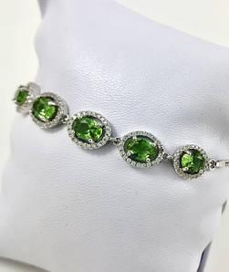 Браслети з камінням/Silver jewelry