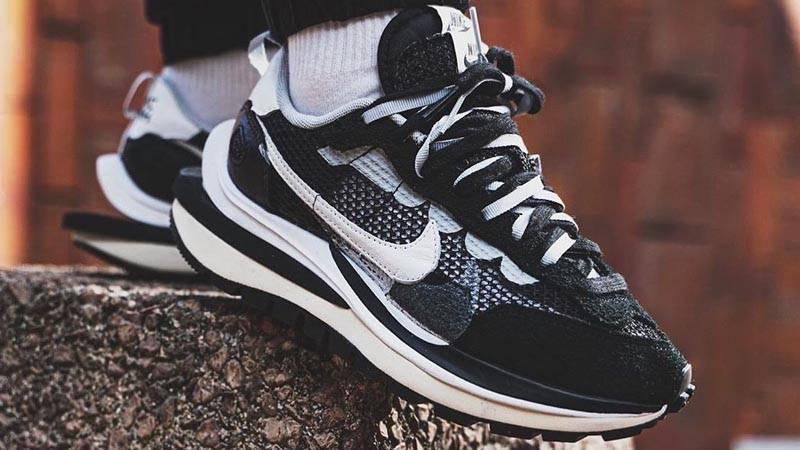 Кросівки чоловічі sacai Nike Vapor Waffle в стилі Найк Вафлі (Репліка ААА+)