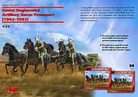 ICM 1/35 Soviet Regimental Artillery Horse Transport (1943-1945)