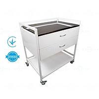 Стол для инструментов, медицинский инструментальный стол анестезиолога СТ-А-Н MEDNOVA