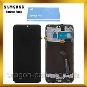 Дисплей Samsung A105 Galaxy A10 2019 с сенсором Черный Black оригинал , GH82-19367A