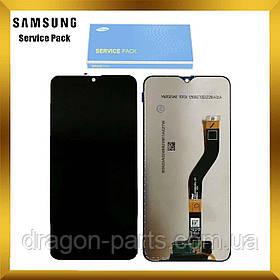 Дисплей Samsung A107 Galaxy A10s 2019 с сенсором Черный Black без рамки оригинал , GH81-17482A