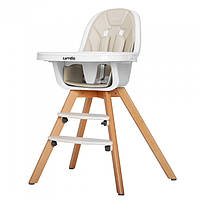 Функциональный детский стульчик для кормления CARRELLO Prego CRL-9504 LIGHT BEIGE, фото 1