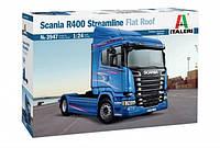 Italeri 1/24 Scania R400 Stramline Flat Roof