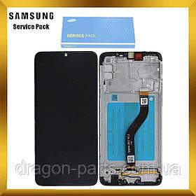 Дисплей Samsung A207 Galaxy A20s 2019 с сенсором Черный, Красный, Синий с рамкой оригинал , GH81-17774A