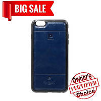 "Силикон ""Pierr Cardin"" IPHONE 6+ BLUE"