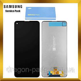 Дисплей Samsung A217 Galaxy A21s 2020 с сенсором Без рамки Черный, Белый, Синий оригинал , GH82-22988A БР