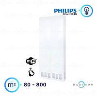 Рециркулятор повітря бактерицидний настінний медичний АЕРЕКС-ПРОФЕШИН 1200 с WiFi Заповіт, лампа Philips