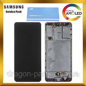 Дисплей Samsung A315 Galaxy A31 с сенсором Черный, Белый, Голубой оригинал , GH82-22761A