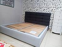 Ліжко Рим-2 180х200 серії Люкс без матраца з підйомним механізмом і ящиком для білизни