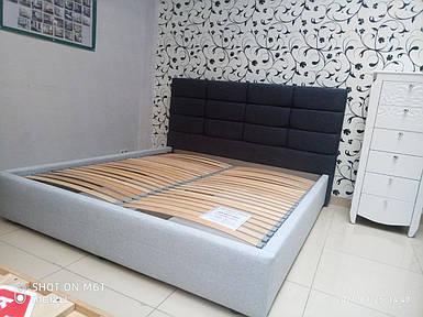 Кровать Рим-2 180х200 серии Люкс без матраса с подъемным механизмом и ящиком для белья