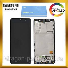 Дисплей Samsung A415 Galaxy A41 с сенсором Черный, Белый, Красный оригинал, GH82-22860A