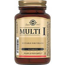 Витамины Solgar Мульти-I (таблекти для повышения иммунитета) 30 таблеток Multi I