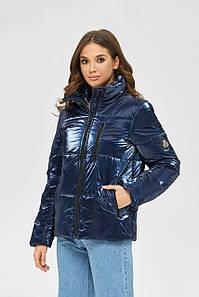 Демисезонная куртка из перламутровой плащевки 44,46,48,50 размер