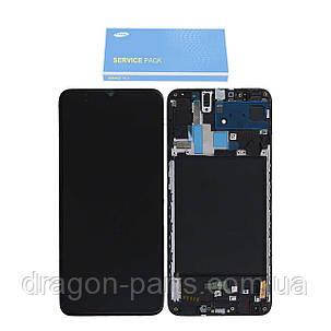 Дисплей Samsung A705 Galaxy A70 2019 с сенсором Черный Black оригинал , GH82-19747A, фото 2