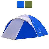 Палатка туристическая четырехместная Acamper ACCO 4 Pro 3500 мм кемпинговая