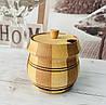 Бочонок для меда, специй, 400 мл. 11,5х11 см