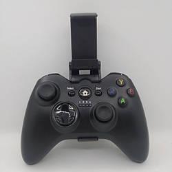 Безпровідний Джойстик C9 6 в 1 для ПК/PS2/PS3/PC360/ANDROID TV/WIN10 вібро Чорний