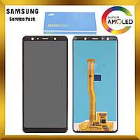 Дисплей Samsung A750 Galaxy A7 2018 с сенсором Черный Black оригинал , GH96-12078A