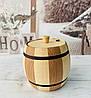 Бочонок для меду, спецій, 400 мл 11х11,5 см