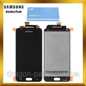 Дисплей Samsung G570 Galaxy J5 prime з сенсором Чорний Black оригінал , GH96-10325A