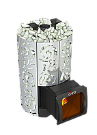 Дровяная печь для бани Grill'D Violet World Steel Long Window Max, фото 1