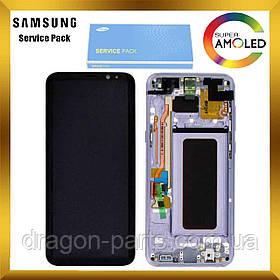 Дисплей Samsung G955 Galaxy S8 plus з сенсором Фіолетовий Сірий Violet Orchid Gray оригінал , GH97-20470C