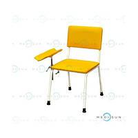 Стул для взятия крови (кресло для забора крови, донорское кресло с подлокотником) СД-1 Завет