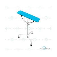 Стол перевязочный медицинский, манипуляционный столик для забора крови, стол для операций на руке СДР Завет