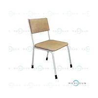 Стілець медичний для лікаря (стілець зі спинкою стаціонарний) СД Заповіт