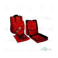 Сумка медицинская, рюкзак медицинский, сумка медицинская для спасателей МЧС и полевых госпиталей МО СУР Завет