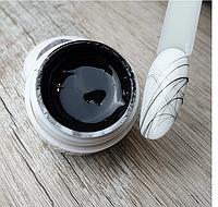 Гель паутинка черная для дизайна ногтей Sweet Nails №4 5г