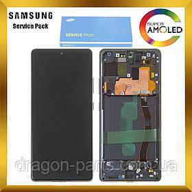 Дисплей Samsung G770 Galaxy S10 Lite с сенсором Черный Black оригинал, GH82-21672A