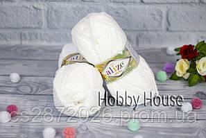 Alize «Softy Plus/Софти плюс»Белый №55