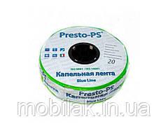 Крапельна стрічка, щільова Blue line 0,18 (20см) 500м BL-20-500 ТМ PRESTO-PS